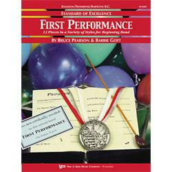 Image for Standard of Excellence First Performance for Baritone Bass Clef from SamAsh