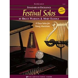 Kjos Standard of Excellence: Festival Solos, Book 1 - Snare Drums & Mallet Percussion