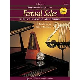 Kjos Standard of Excellence: Festival Solos, Book 1 - Trumpet