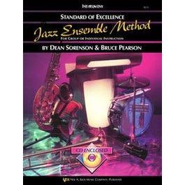 Kjos Standard of Excellence Jazz Ensemble Method, Drums
