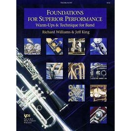 Kjos Foundations For Superior Performance for Bass Clarinet