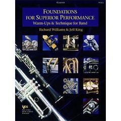 Image for Foundations For Superior Performance for Clarinet from SamAsh