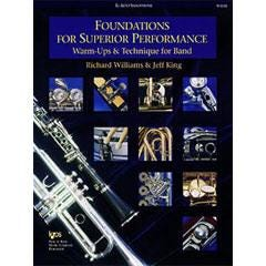 Image for Foundations For Superior Performance for Alto Sax from SamAsh