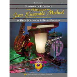 Image for Standard of Excellence ADVANCED Jazz Ensemble Method-Drums (BCD) from SamAsh