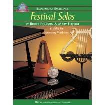 Kjos Standard of Excellence: Festival Solos Book 3 - Baritone BC
