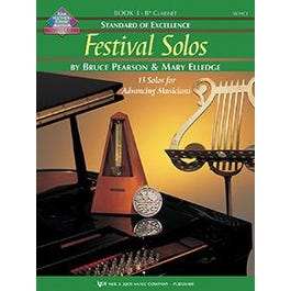 Kjos Standard of Excellence: Festival Solos, Book 3 - Bb Clarinet
