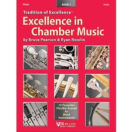 Kjos Excellence In Chamber Music Book 1 - Flute