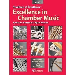Kjos Excellence In Chamber Music Book 1 - Eb Alto Saxophone/Eb Baritone Saxophone