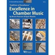 Kjos Excellence In Chamber Music Book 2 - B♭ Clarinet/B♭ Bass Clarinet