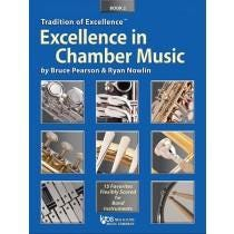 Kjos Excellence In Chamber Music Book 2 - B♭ Tenor Saxophone