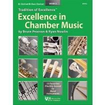Kjos Excellence In Chamber Music Book 3 - B♭ Clarinet/B♭ Bass Clarinet