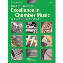 Kjos Excellence In Chamber Music Book 3 - B♭ Tenor Saxophone