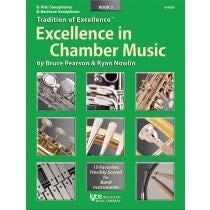 Kjos Excellence In Chamber Music Book 3 - E♭ Alto Saxophone