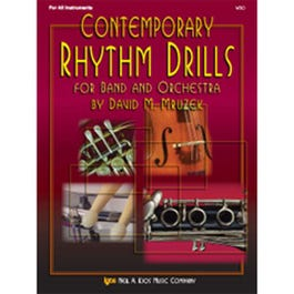 Image for Contemporary Rhythm Drills For Band And Orchestra from SamAsh