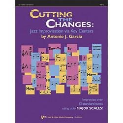 Image for Cutting The Changes for C Treble Clef (Book and CD) from SamAsh