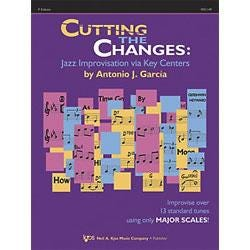 Image for Cutting The Changes for F Instruments (Book and CD) from SamAsh