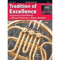 Kjos Tradition of Excellence Book 1 - F Horn