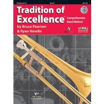 Kjos Tradition of Excellence Book 1 - Trombone T.C