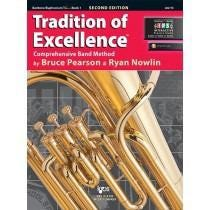 Kjos Tradition of Excellence Book 1 - Baritone/Euphonium T.C.