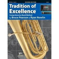 Kjos Tradition of Excellence Book 2 - BBb Tuba