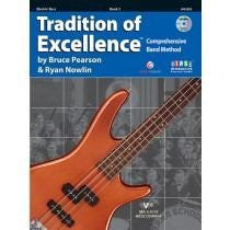 Kjos Tradition of Excellence (SOE) ENHANCED Book 2 - Electric Bass