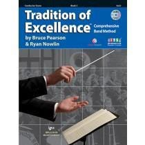 Kjos Tradition of Excellence Book 2 - Conductor Score-BDVD