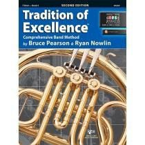 Kjos Tradition of Excellence Book 2 - F Horn