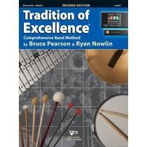 Kjos Tradition of Excellence Book 2 - Percussion