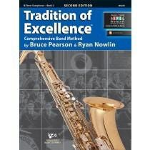 Kjos Tradition of Excellence Book 2 - Bb Tenor Saxophone