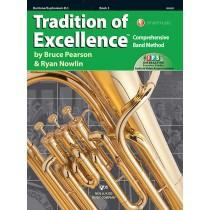 Kjos Tradition of Excellence Book 3 - Baritone/Euphonium B.C.
