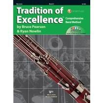 Kjos Tradition of Excellence Book 3 - Bassoon