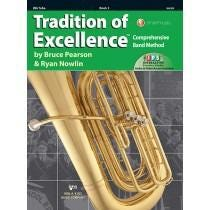 Kjos Tradition of Excellence Book 3 - BBb Tuba