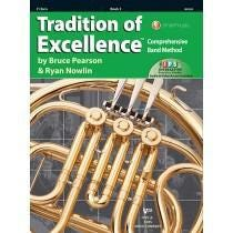 Kjos Tradition of Excellence Book 3 - F Horn