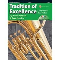 Kjos Tradition of Excellence Book 3 - Baritone/Euphonium T.C.