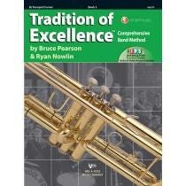 Kjos Tradition of Excellence Book 3 - Bb Trumpet/Cornet