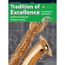 Kjos Tradition of Excellence Book 3 - Eb Baritone Saxophone
