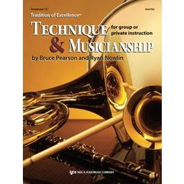 Kjos Tradition of Excellence: Technique and Musicianship - Trombone T.C.