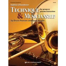 Kjos Technique and Musicianship - Eb Baritone Saxophone