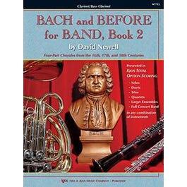 Kjos Bach and Before for Band - Book 2 - Alto Clarinet