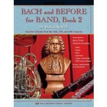 Kjos Bach and Before for Band - Book 2 - Conductor Score