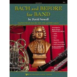 Kjos Bach and Before for Band - Book 2 - Eb Alto & Bari Sax