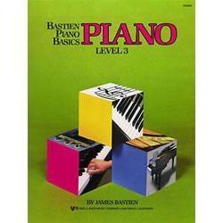 Image for Bastien Piano Basics Level 3 from SamAsh