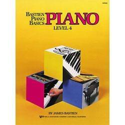 Image for Bastien Piano Basics Level 4 from SamAsh