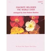 Kjos Favorite Melodies The World Over Level 1