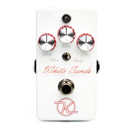 Image for White Sands Luxe Drive Overdrive Effect Pedal from SamAsh