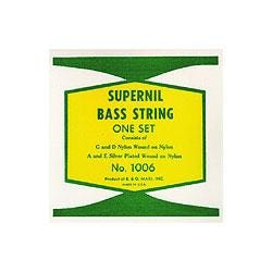 Image for 1006 Supernil Nylon Wound Double Bass Strings from SamAsh