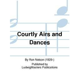 Ludwig Masters Publications Courtly Airs and Dances-Concert Band
