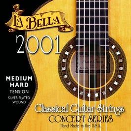 La Bella 2001 Classical Guitar Strings, Medium Hard Tension