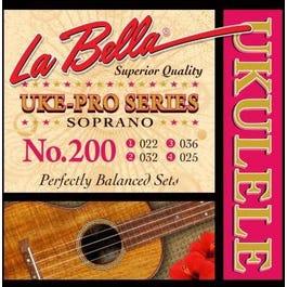 La Bella 200 Uke-Pro, Soprano, 22-36