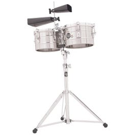 Image for LP272S Stainless Steel Timbalitos from SamAsh